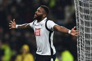derby county striker darren bent admits he would celebrate if he scored against former club sunderland