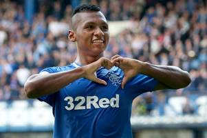 transfer talk: rangers boss on speculation linking alfredo morelos with a move to the championship