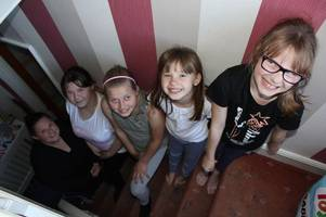 The five girls who help in their little sister's battle with Asperger's