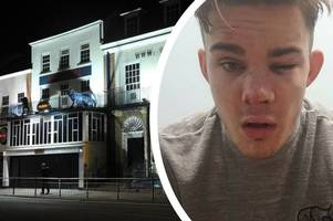 'i was jumped by violent thug in valbon nightclub toilets'