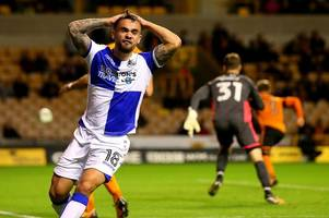 bristol rovers player ratings vs wolves: ollie clarke short of fitness, bola impressive, telford cameo