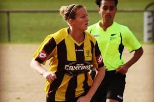 midfielder enjoying life with cheltenham town ladies after spell in new zealand