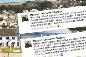 Seaside planning scandal explodes as mayor unmasks woman behind fake Facebook profile