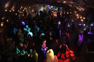 There's a spooky Halloween party taking place 100ft underground in Gloucestershire