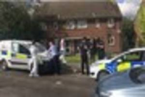first video from the scene as police probe leaves tunbridge wells...