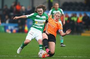 yeovil town ladies given tv snub after historic promotion as liverpool and chelsea get top billing