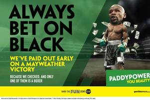 'racist' paddy power advert for mayweather v mcgregor superfight banned by watchdogs