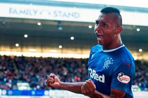 rangers ace alfredo morelos wanted by aston villa as string of english clubs are linked with ibrox goal machine