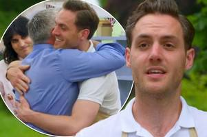 tom hetherington sent home from great british bake off after raw cake puts paul hollywood off for good