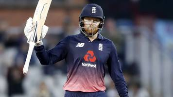 England v West Indies: Jonny Bairstow makes century in Old Trafford win