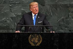 Trump Lays Out New Vision for World in UN Speech