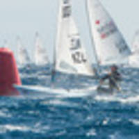 electric finish to laser world champs