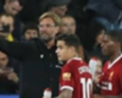 coutinho substitution inspired leicester to win over liverpool, claims shakespeare