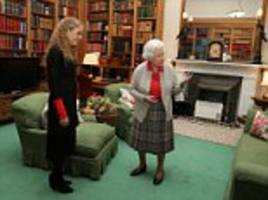 balmoral photo reveals the queen's private space