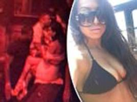 Kevin Hart pictured partying in Vegas with sex video woman