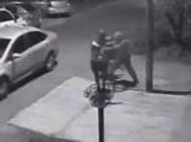 Shocking 'kidnap attempt' caught on camera in Argentina