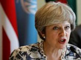 May 'will offer Brussels £20bn for a transition deal'