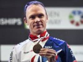 chris froome wins bronze in world championship time-trial