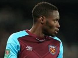 diafra sakho happy at west ham with boss slaven bilic