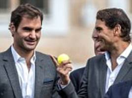 roger federer eyes playing doubles with nadal at laver cup