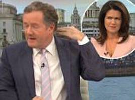 Piers Morgan reveals he had a lump from his neck removed