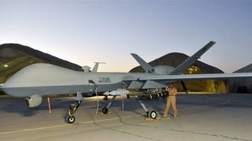 military drone pilots could get medals - michael fallon