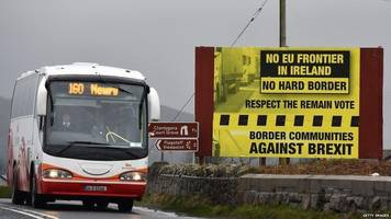uk 'must find irish border solution' - guy verhofstadt