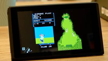 hidden golf game found on nintendo switch