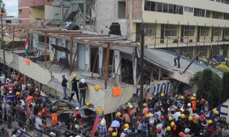 32 Children Dead, 30 More Missing In Rubble Of Collapsed Mexico City School