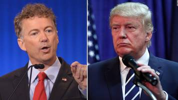 Trump Slams Rand Paul As Negative Force On Fixing Healthcare; Paul Immediately Responds