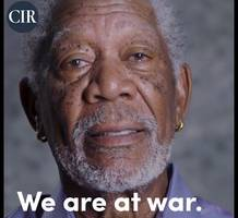 we are at war - morgan freeman is the face of the new committee to investigate russia