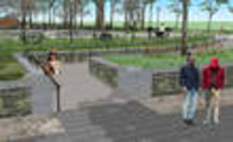 What Are Drake And Akon Doing In These NYC Park Renderings?