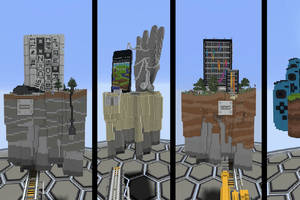 minecraft's cross-platform update is now available on xbox, pc, and mobile