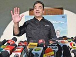 AAP holds meeting with legendary actor Kamal Haasan
