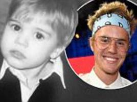 Justin Bieber is cute as a button in throwback snap