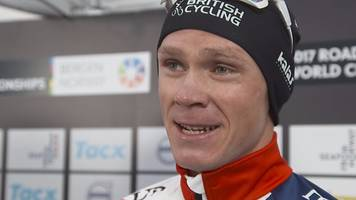 chris froome has 'no regrets' after world time trial bronze