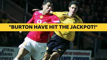 watch: remember when ronaldo's man utd couldn't beat burton?