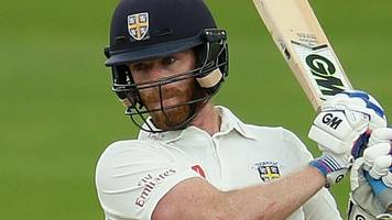 durham v sussex: graham clark gives hosts edge after day two