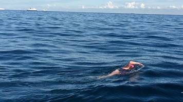 two sisters swim the english channel to raise money for charity