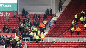 middlesbrough-sheffield united brawl: fans given banning orders