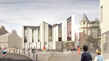 great tapestry of scotland visitor centre application lodged