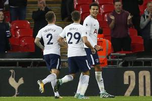 derby county's carabao cup conquerors barnsley edged out by spurs at wembley