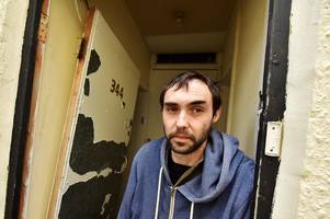 tenant on rent strike says his whitehall flat with no front door or electricity is 'effectively a cave'