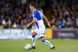 tom nichols opens up about goal drought for bristol rovers