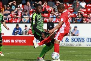 argyle's nathan blissett to serve three-match ban after red card