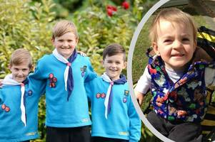 Brother of tragic Reuben Lavric, 3, will take on charity challenge in his memory