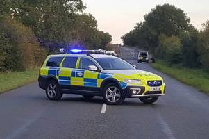 Cyclist in critical condition after crash which closed road for several hours