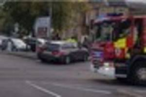 two car smash-up in chelmsford involved an unmarked car