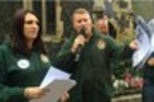 Britain First leaders Paul Golding and Jayda Fransen have been...