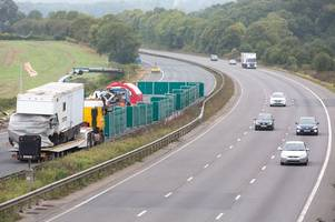 M5 crash: Highways England says it is too early to say if more concrete barriers will be installed on M5 after horror crash killed four